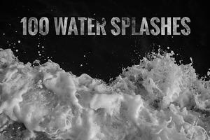 100 Water Splashes
