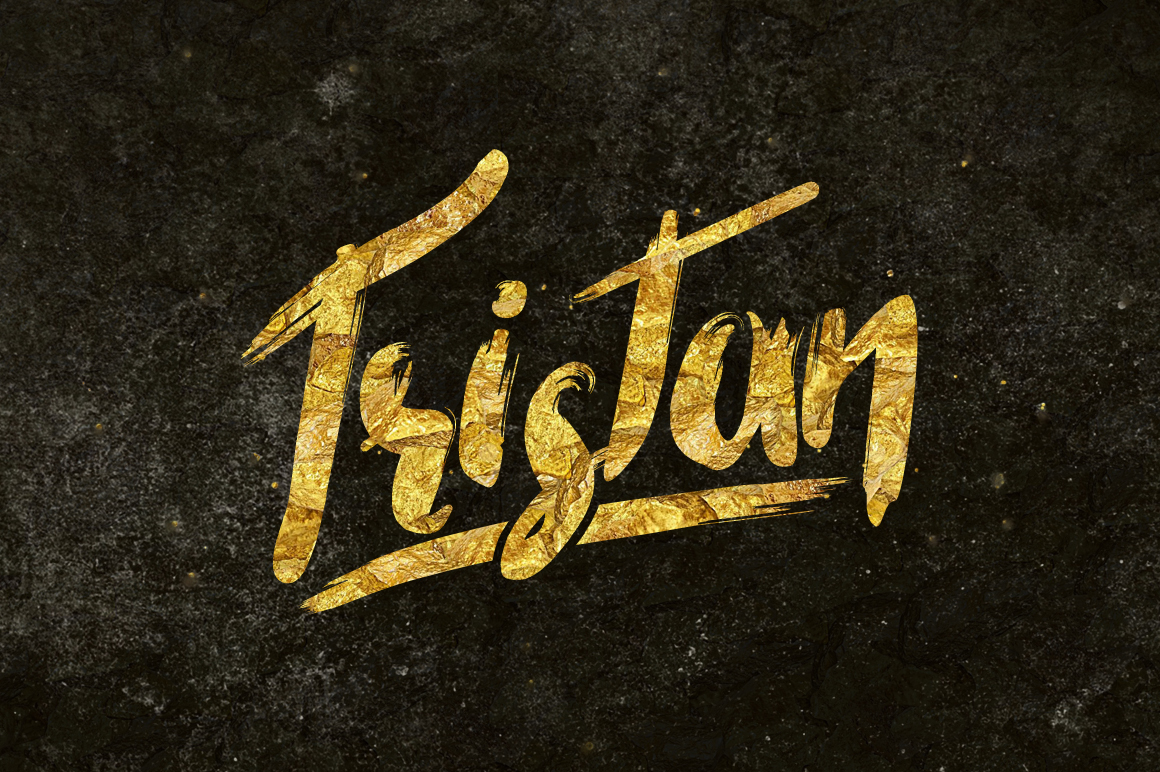 Tristan Brush Font Font Download
