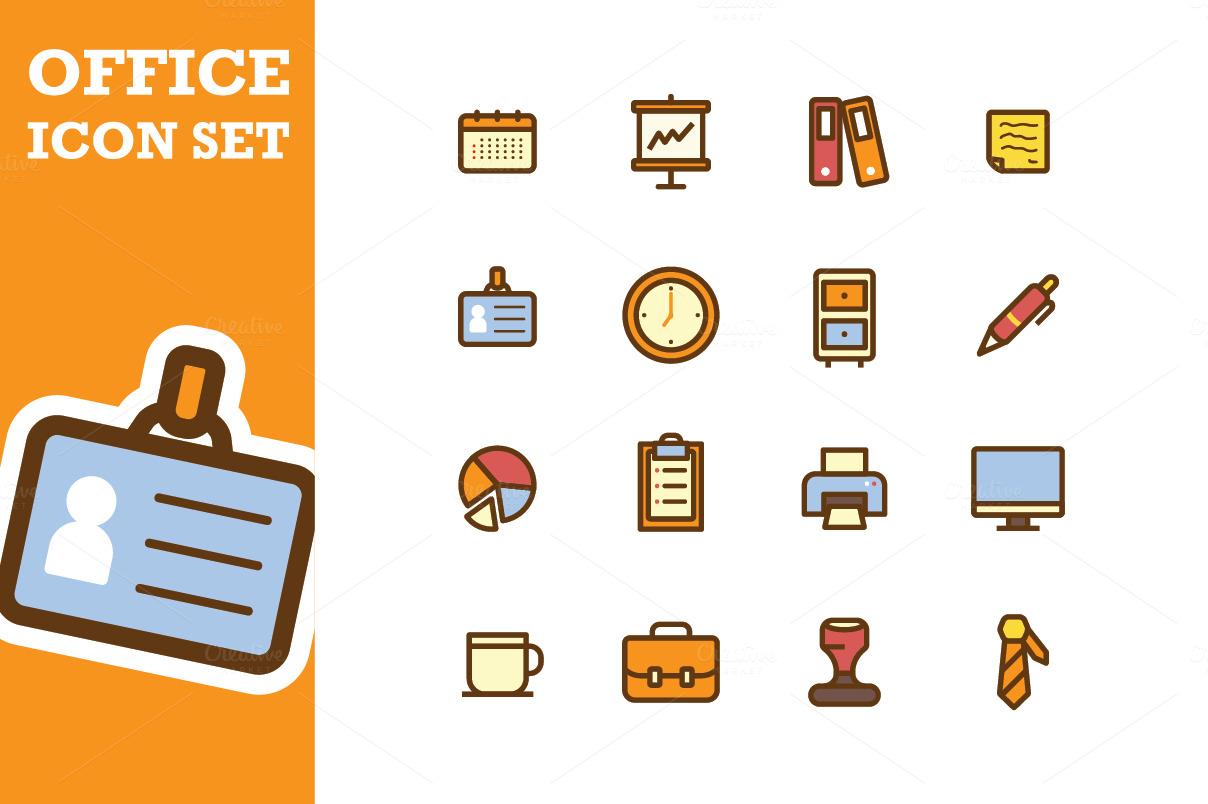 Office Icon Office Icon Set ~ Icon...