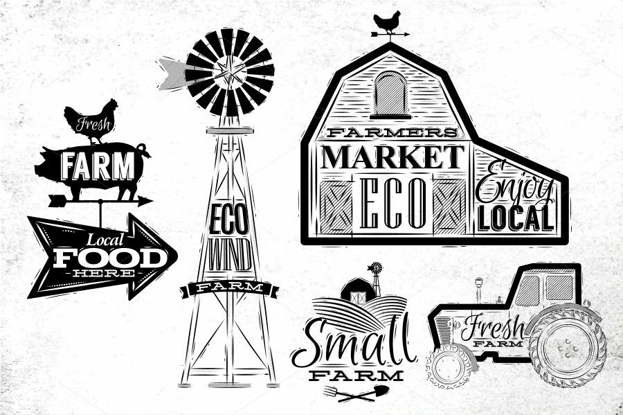 farm graphics