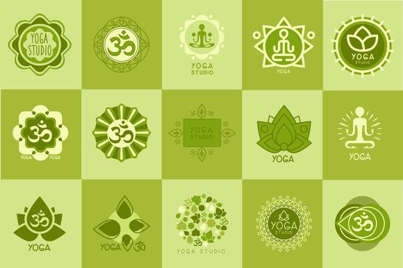 Yoga And Meditation Logo
