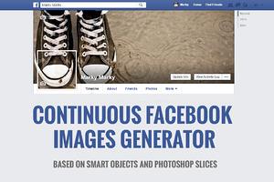 Continuous Facebook Cover Generator