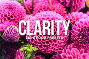 Clarity Lightroom Presets-Graphicriver中文最全的素材分享平台