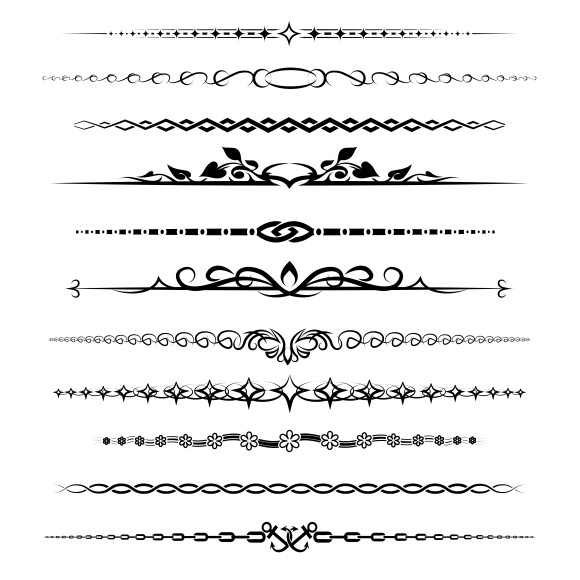 Chapter dividers ~ Graphics on Creative Market
