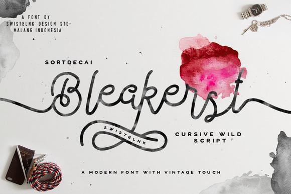 Bleakerst Script (Anniv Free Sale) - Script - 1