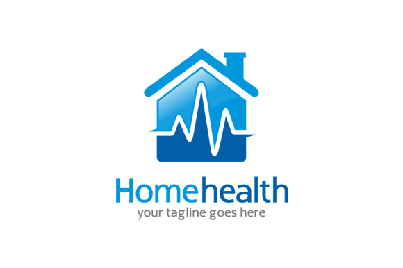 Home Health Care Logo Template Logo Templates On Creative Market