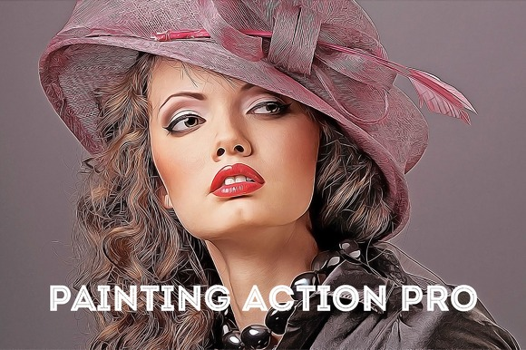 Painting Action Pro! (Photoshop) - Actions