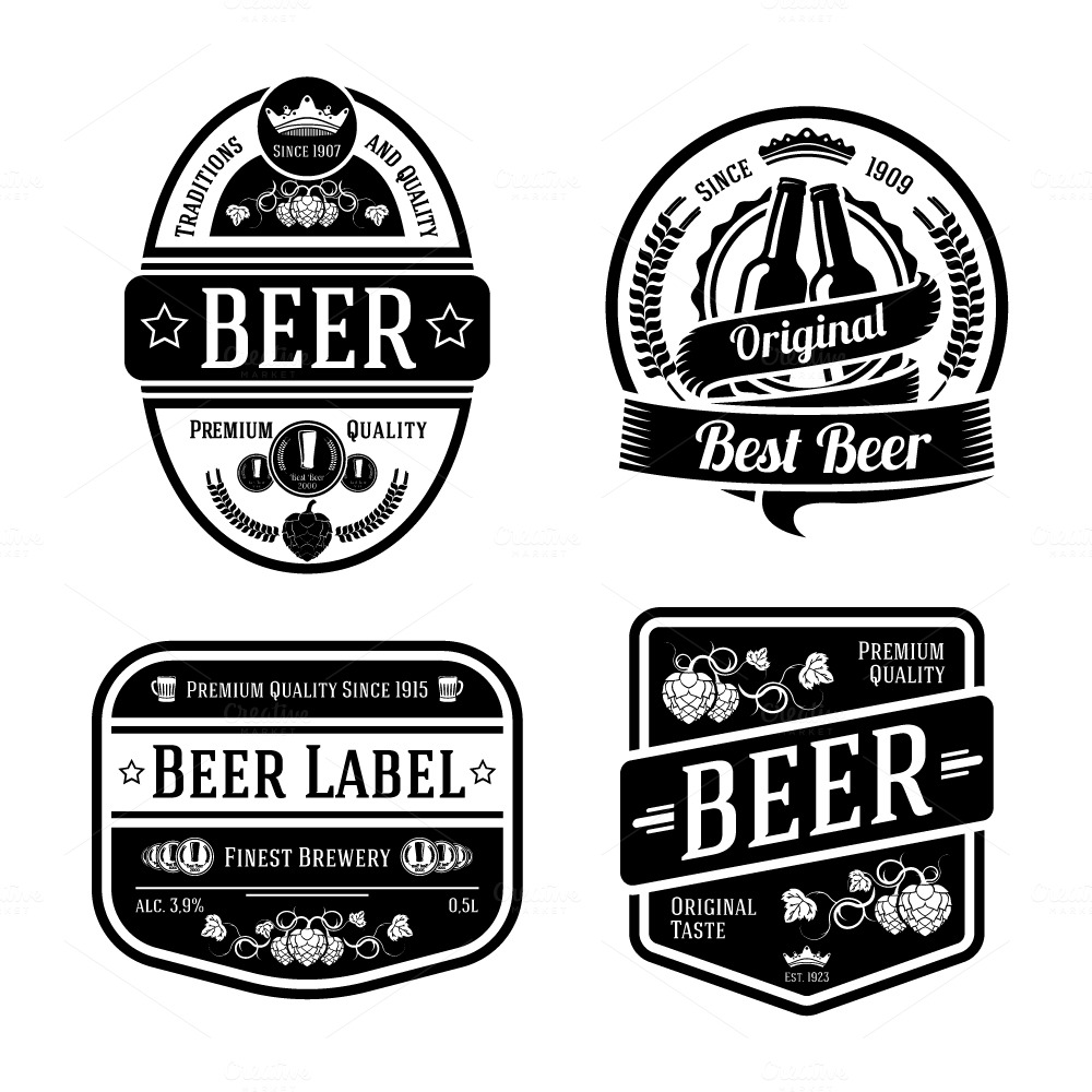 free clipart beer labels - photo #36