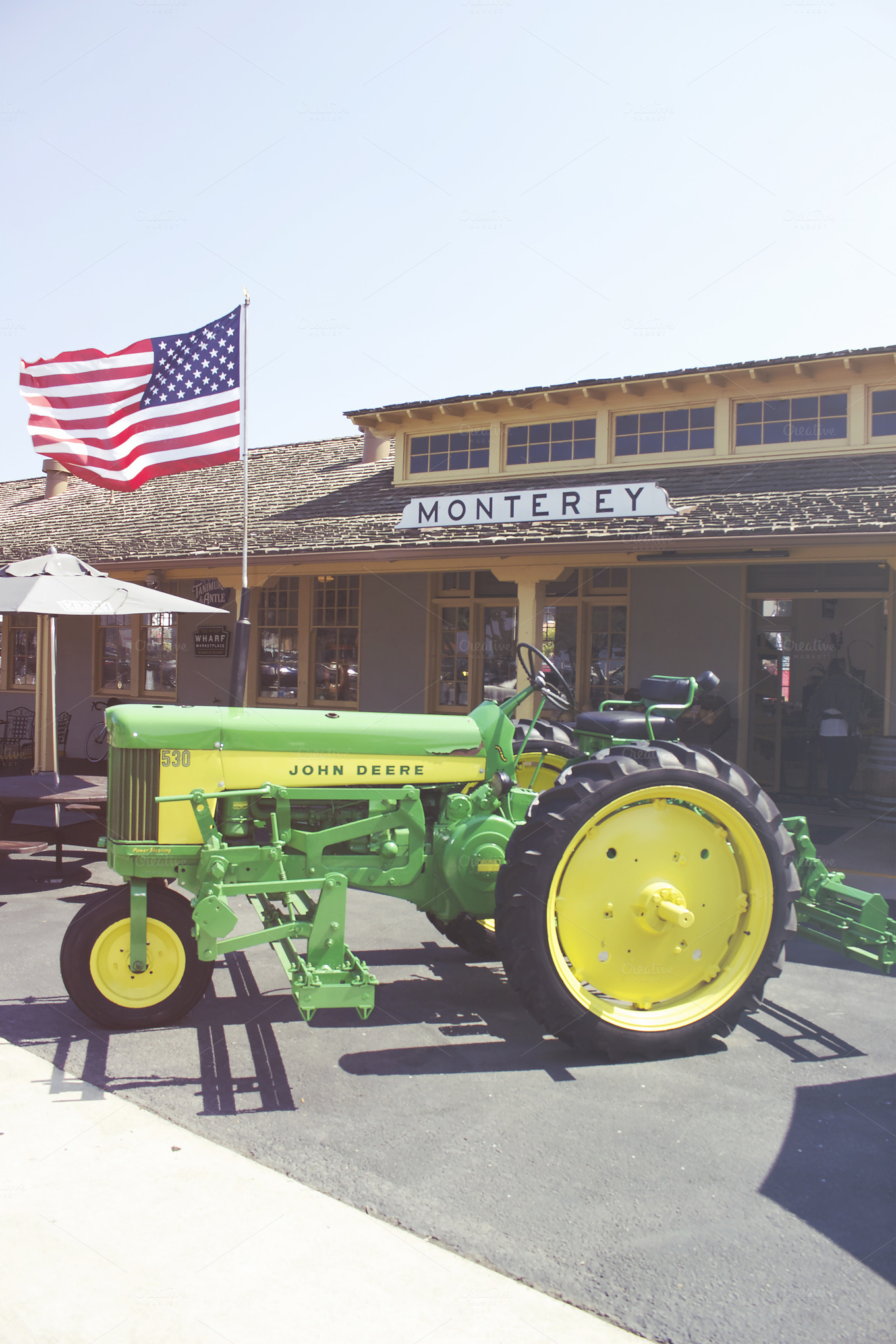 john deere monterey general store architecture photos on creative market. Black Bedroom Furniture Sets. Home Design Ideas
