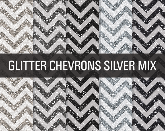 glitter chevron textures silver mix textures on creative