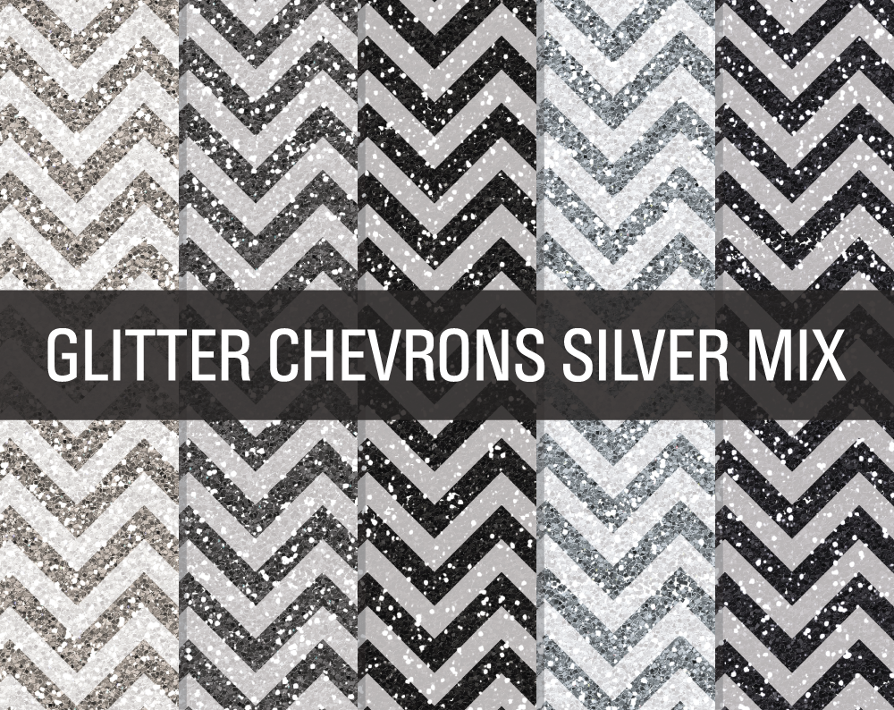 Glitter Chevron Textures Silver Mix ~ Textures on Creative ...