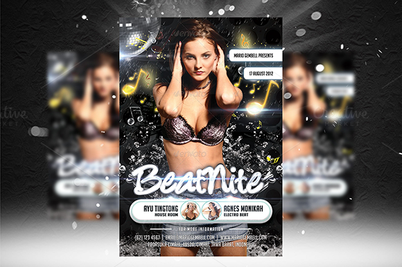 Beat Nite Flyer Template