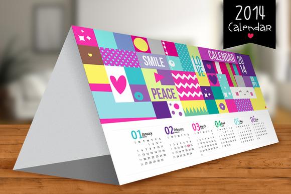 2014 Calendar Textures