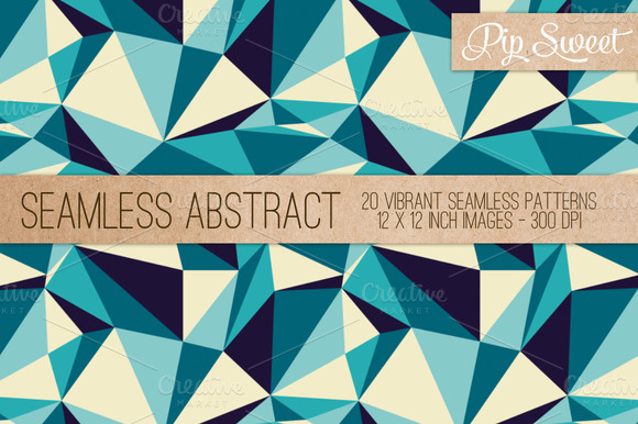 Seamless Abstract 20 Pattern Set