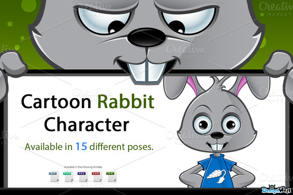 Cartoon Rabbit Character