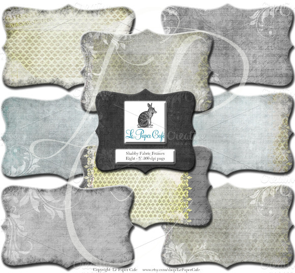 Chartreuse Grey Clipart Frame PNG