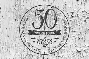 [50% OFF] Vintage Logos Templates