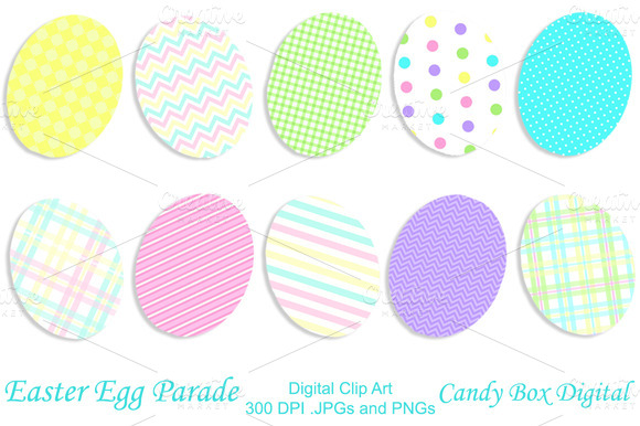 easter clip egg pixels wide 400 150 tall patterned creativemarket