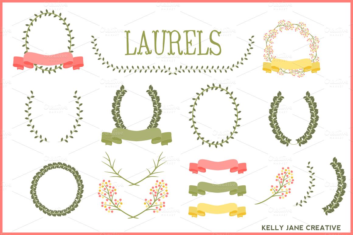 Laurels, Ribbons &...
