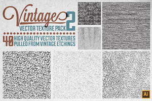 Vintage Vector Texture Pack 2
