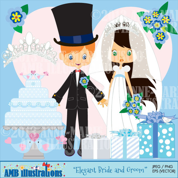 Bride And Groom Clipart
