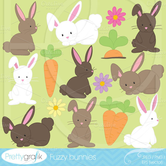 Bunny Clipart Commercial Use