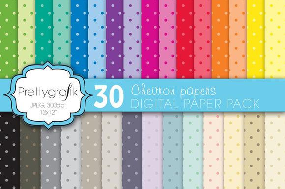 Polka Dot Digital Paper Commercial