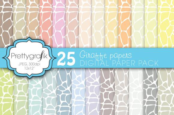 Giraffe Digital Paper Commercial
