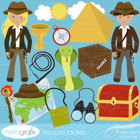 Explorer Clipart Commercial Use