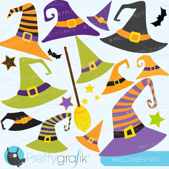Halloween Hats Clipart Commercial