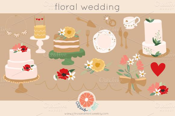 Wedding Clip Art .png files - Illustrations