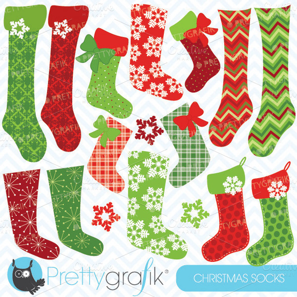 Christmas Stockings Clipart