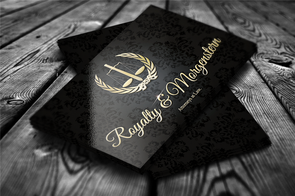 Golden Royalty Business Card