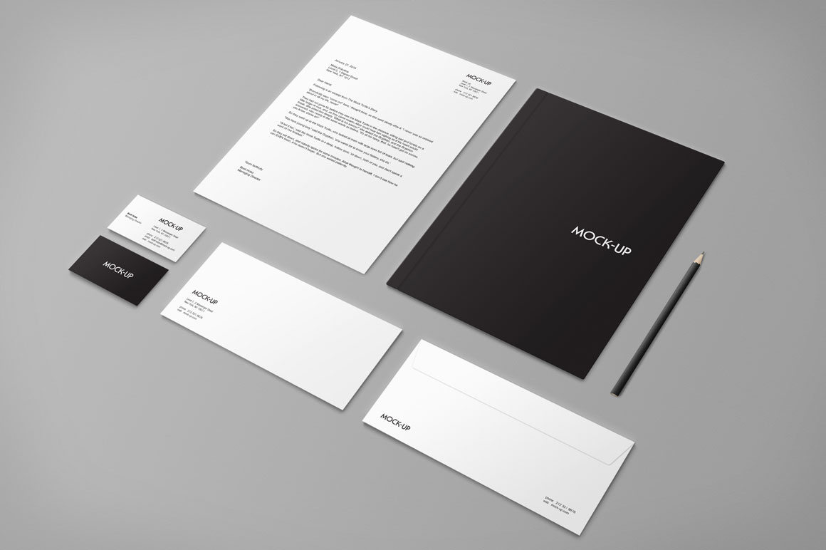 Stationery & Branding Mock-up ~ Product Mockups on ...