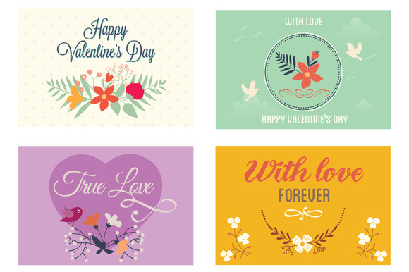 Valentines Day Greeting Cards Vol 2