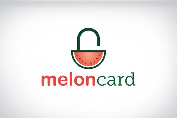 Meloncard Startup Logo Brand Design