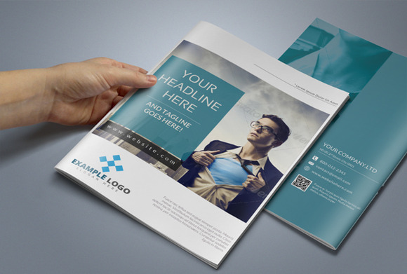 creative a5 brochure template