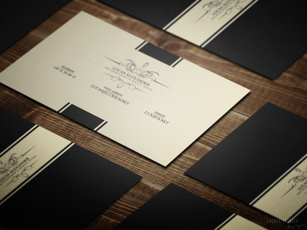 Classy Business Card Business Card Templates on Creative