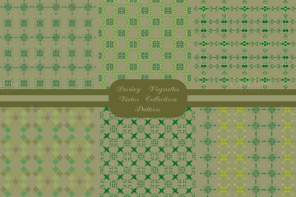 Derriey Vignettes Vector Pattern