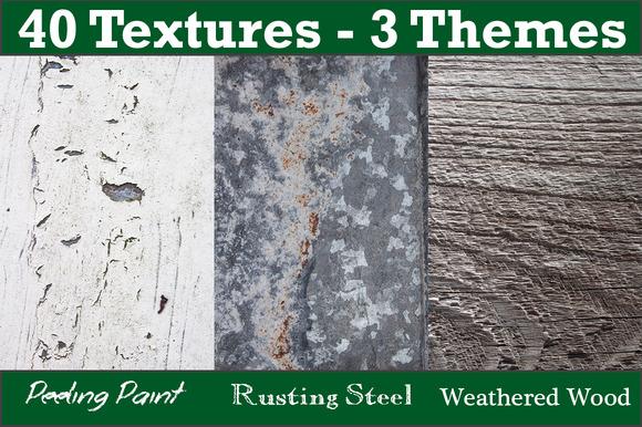 40 Textures 3 Themes Bundle