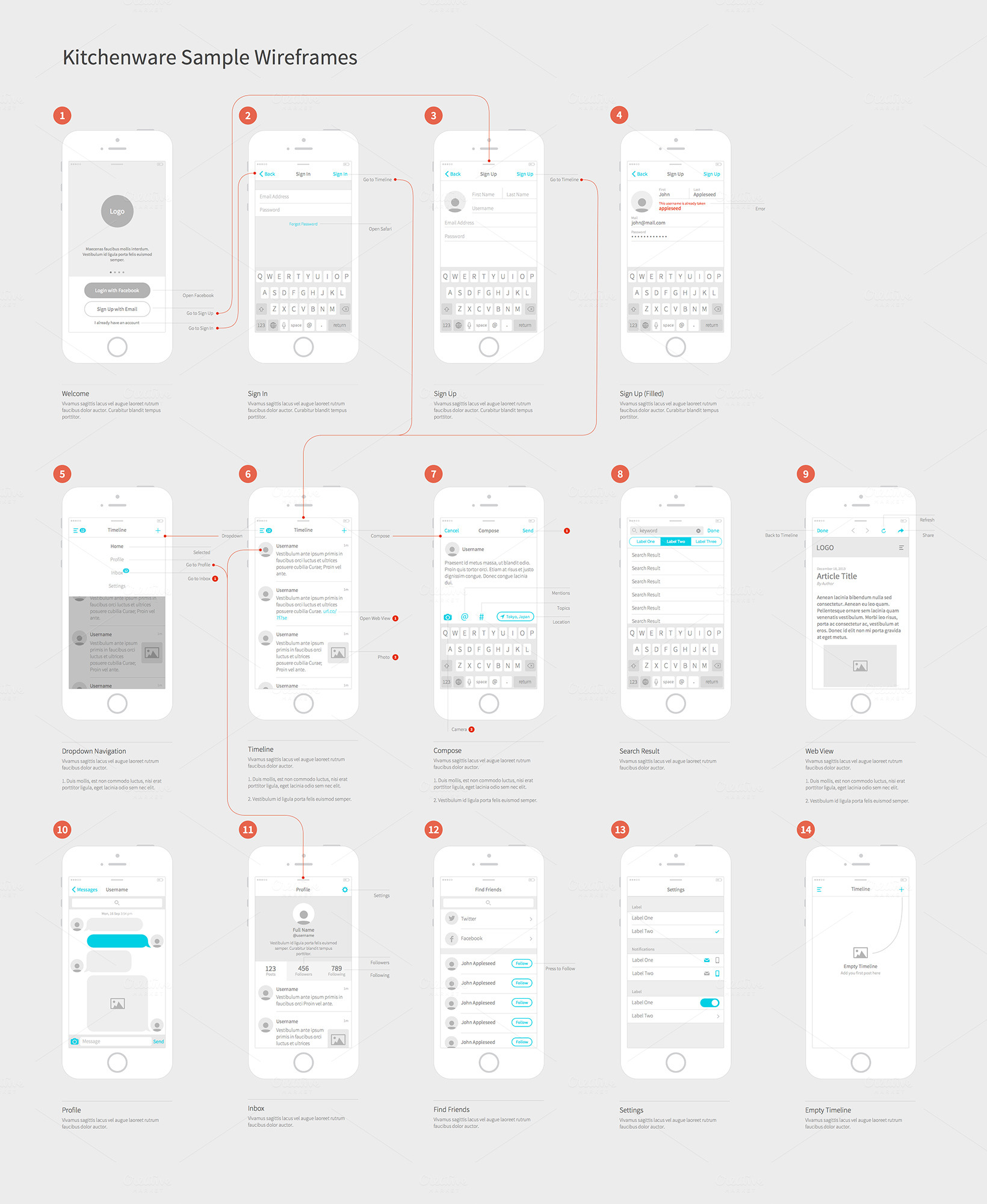 how to create a wireframe in illustrator