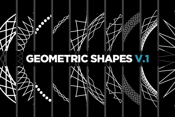 10 Geometric Shapes v.1 - Objects