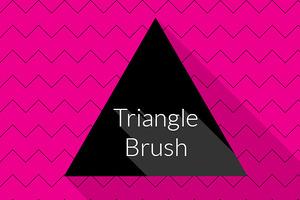 Triangle Brush Photoshop