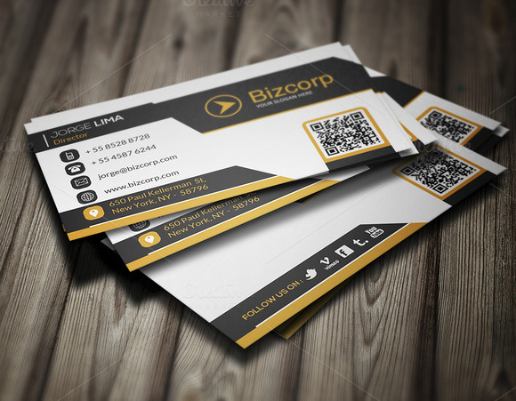 Corporate Business Card 005