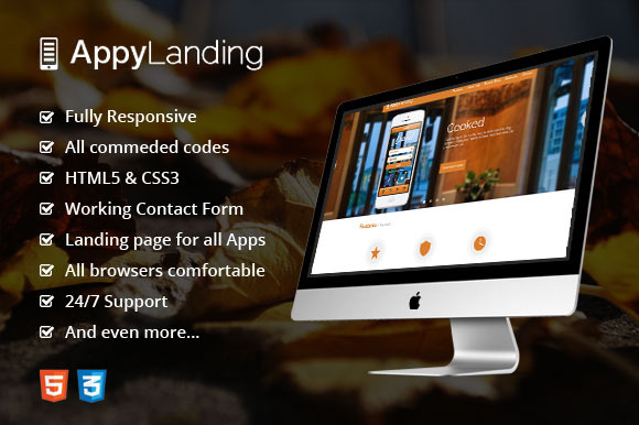 Appy Responsive Landing Page