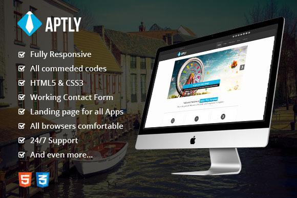Aptly Responsive HTML5 Template