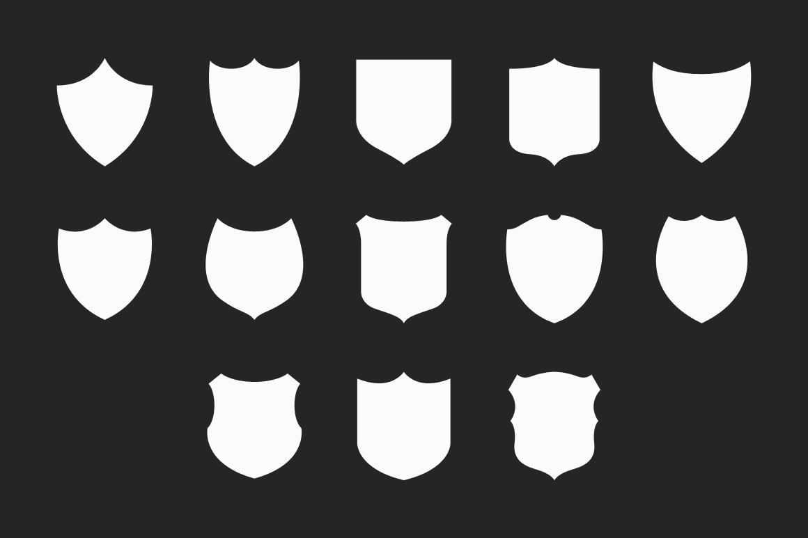 escutcheon  u2013 vector shield shapes