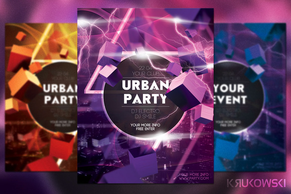 Urban Sounds Flyer