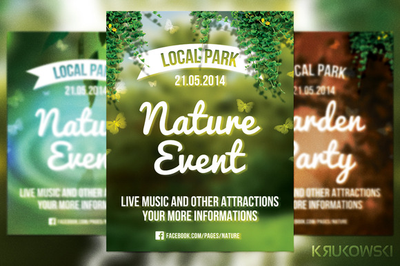 Nature Event Flyer