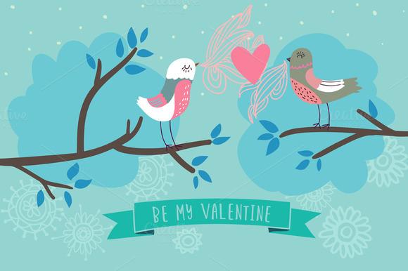 Romantic Birds